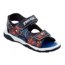 BOYS SPIDERMAN TOUCH FASTEN SUMMER BEACH WALKING SPORTS SANDALS SHOES
