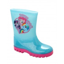 GIRLS AQUA MY LITTLE PONY WELLIES WELLINGTON RAIN SNOW WELLY BOOTS