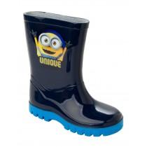 BOYS DESPICABLE ME MINION WELLIES WELLINGTON RAIN SNOW BOOTS WELLYS