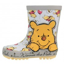 BOYS WINNIE THE POOH OFFICIAL WELLIES RAIN BOOTS WELLYS WELLINGTONS UK SIZE 5-10