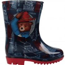 BOYS OFFICIAL PADDINGTON BEAR WELLIES RAIN BOOTS WELLYS WELLINGTONS